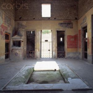 Ο προσδιορισμός του τόπου - Επιλέξαμε εικόνα που ονομάζεται casa di menandro (το σπίτι του Μένανδρου) από την Πομπηία.