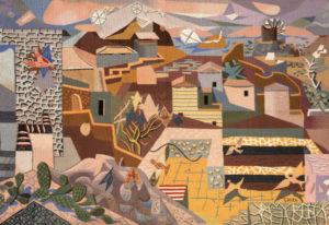 Ανθρωπιστική - Για τη Β' Ανθρωπιστική επιλέξαμε έργο του Έλληνα ζωγράφου Χατζηκυριάκου Γκίκα ( μια νύχτα στο μουσείο)