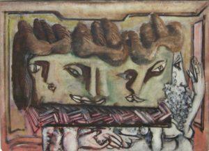 Τέχνη για τα παιδιά - Πίνακας του Rothko με τίτλο heads