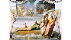 Οι Γυναικείες μορφές στην Οδύσσεια -Επιλέξαμε πίνακα που απεικονίζει τη Λέυκοθέα να σώζει τον Οδυσσέα