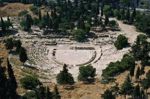 Εκπαιδευτικό Υλικό - Φωτογραφία από το Θέατρο του Διονύσου στην Αθήνα.
