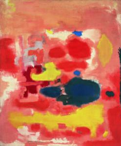 Για το πρώτο μάθημα της τέχνης στα παιδιά επιλέξαμε έναν πίνακα από το 1948.