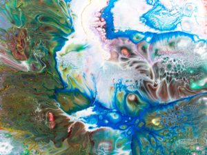 """Για το άρθρο μας """"Μετατροπή προτάσεων σε μετοχές"""" επιλέξαμε αυτή τη σύνθεση του lonfeldt. Πρόκειται για μια σύνθεση αφηρημένης ζωγραφικής με έντονα χρώματα."""