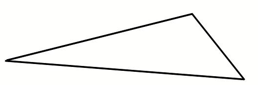 Η αλληγορία του σπηλαίου στο χρόνο:Για να κατανοήσουμε καλύτερα τη σκέψη του Πλάτωνα σχετικά με τις νοητές μορφές εισάγουμε στο κείμενο την εικόνα ενός σκαληνού τριγώνου.