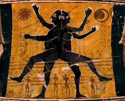 Πρόσωπα στο Συμπόσιο του Πλάτωνα:Επιλέξαμε την κλασική αναπαράσταση του ανδρόγυνου, όπως περιγράφεται από τον Αριστοφάνη στο Συμπόσιο.